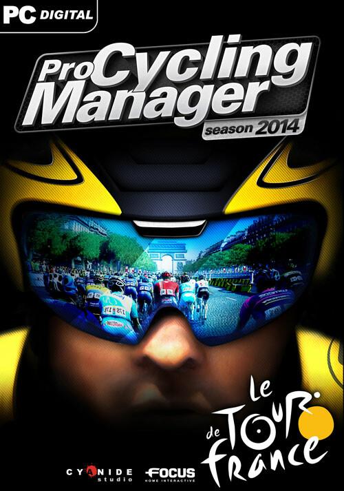 Pro Cycling Manager - Tour de France 2014 - Cover