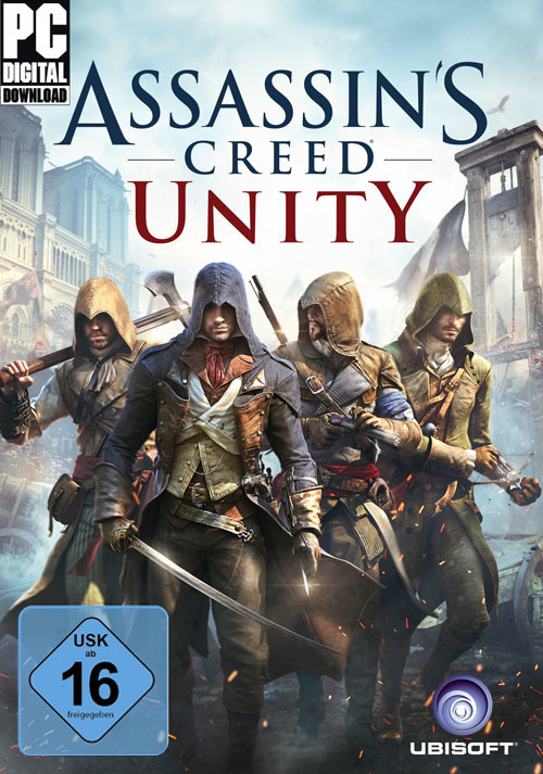 Assassin's Creed Unity - Cover