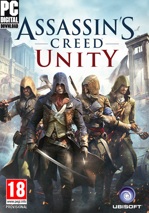 Assassin's Creed Unity - Cover / Packshot