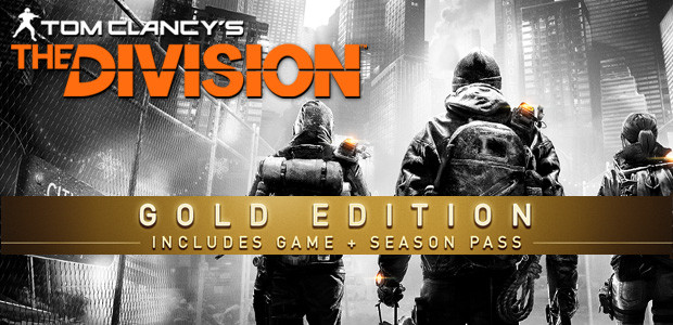 Tom Clancy's The Division Gold Edition - Cover / Packshot