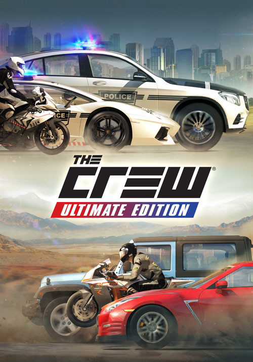 The Crew Ultimate Edition - Cover