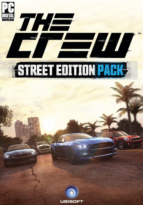the crew street edition pack dlc 2 uplay cd key f r. Black Bedroom Furniture Sets. Home Design Ideas