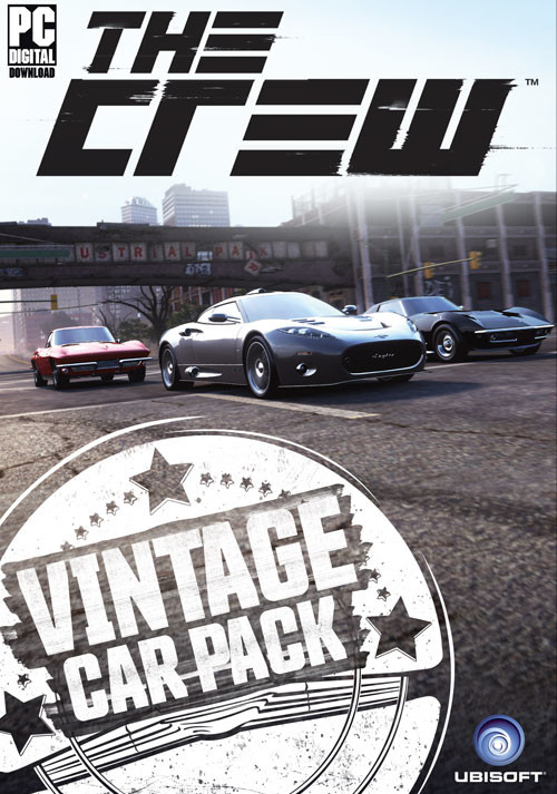 The Crew - Vintage Car Pack - DLC 4 - Packshot