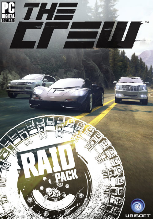 The Crew - Raid Car Pack - DLC 5 - Cover