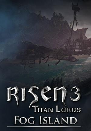 Risen 3 - Titan Lords Fog Island DLC - Cover / Packshot