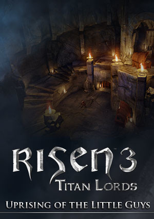 Risen 3 - Titan Lords Uprising of the Little Guys DLC - Cover / Packshot