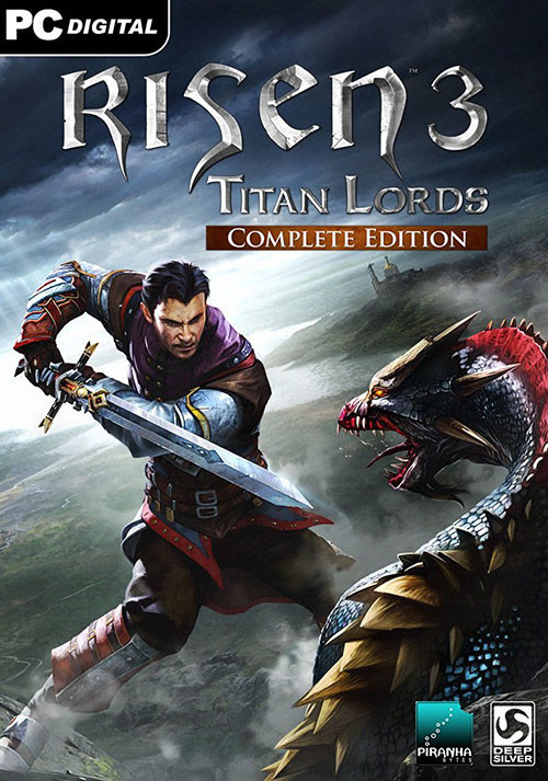 Risen 3 - Titan Lords Complete Edition - Cover
