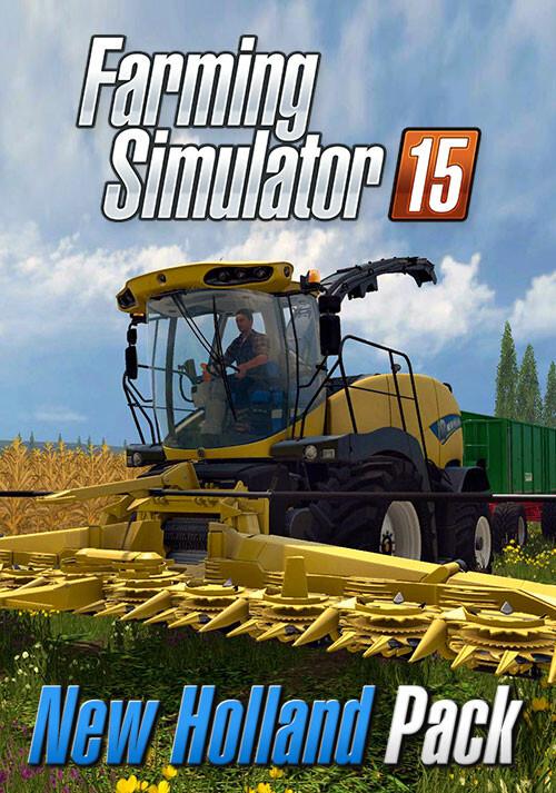 Farming Simulator 15 - New Holland Pack (Giants) - Cover / Packshot