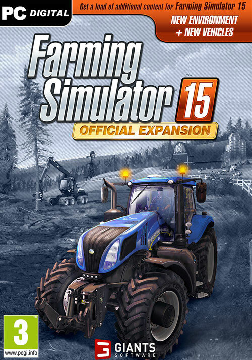 Farming Simulator 15 - Official Expansion GOLD (Giants) - Cover / Packshot