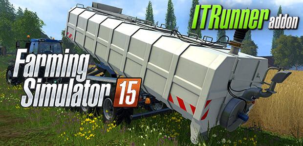 Farming Simulator 15 - ITRunner (Giants) - Cover / Packshot