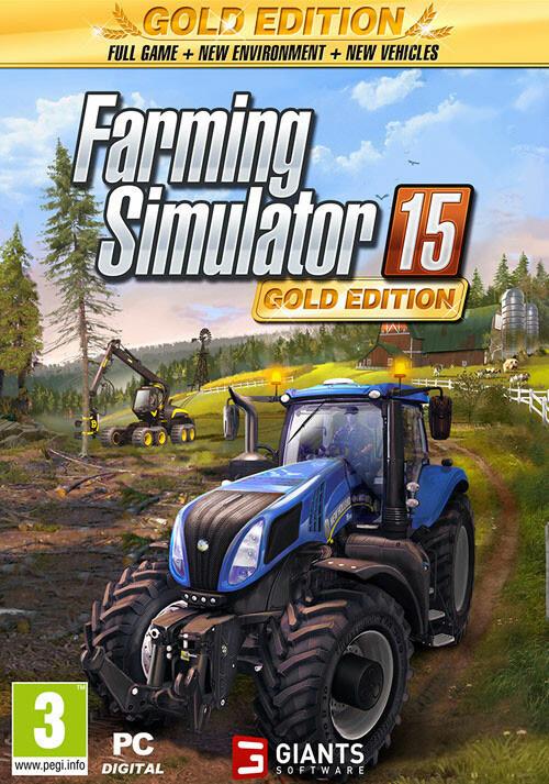 Farming Simulator 15 Gold Edition (Steam) - Cover / Packshot