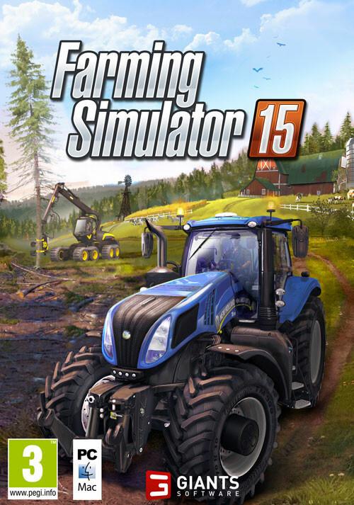 Farming Simulator 15 (Giants) - Cover / Packshot