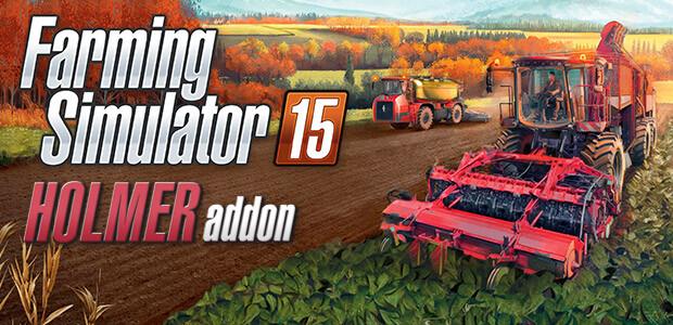 Farming Simulator 15 - HOLMER (Giants) - Cover / Packshot