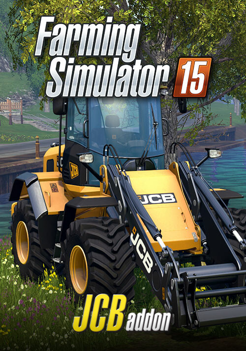 Farming Simulator 15 - JCB (Giants) - Cover / Packshot
