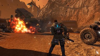 Screenshot9 - Red Faction Guerrilla Re-Mars-tered