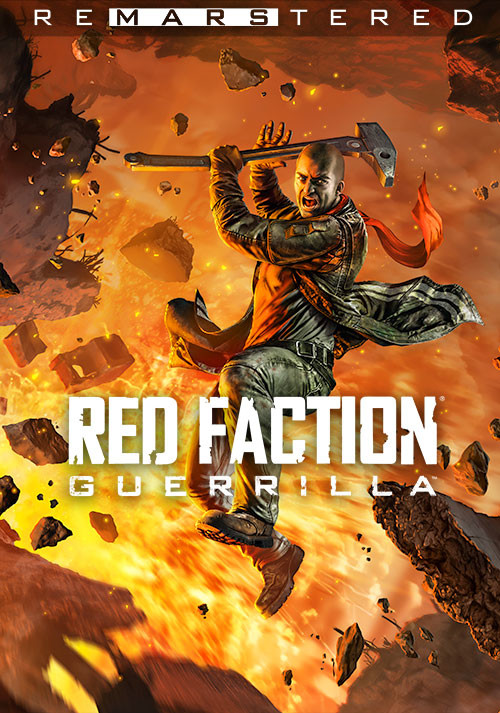 Red Faction Guerrilla Re-Mars-tered - Cover