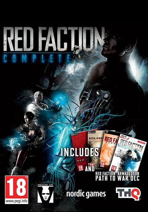 Red Faction Complete - Cover / Packshot