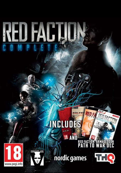Red Faction Complete - Cover / Packshot