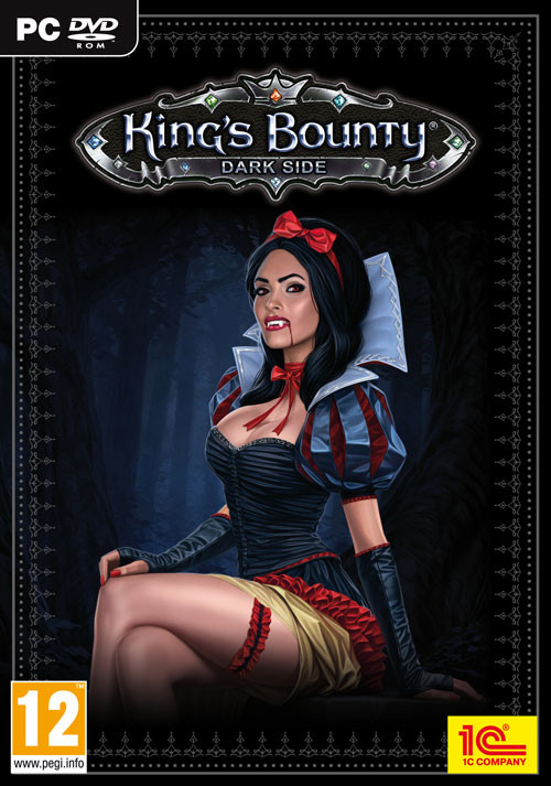 King's Bounty: Dark Side - Cover