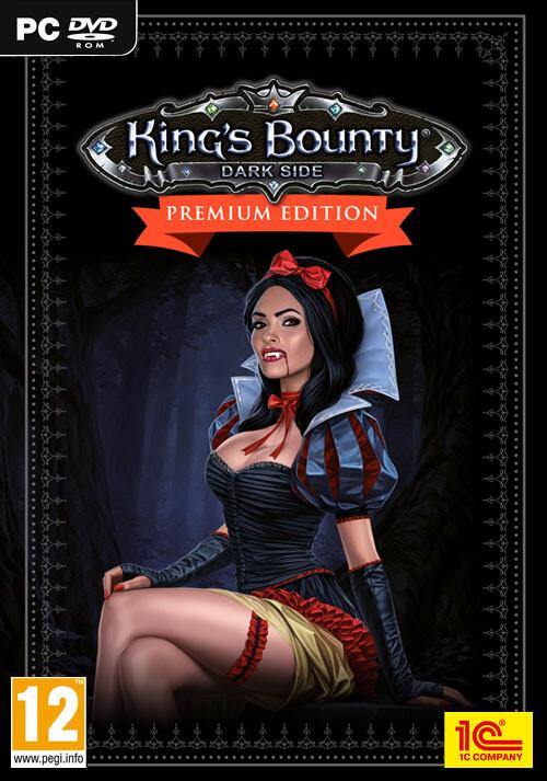 King's Bounty: Dark Side Premium Edition - Cover / Packshot