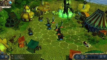 Screenshot1 - King's Bounty: Dark Side Premium Edition