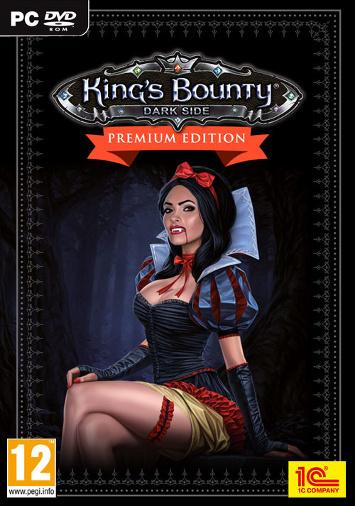 King's Bounty: Dark Side Premium Edition - Cover / Packshot