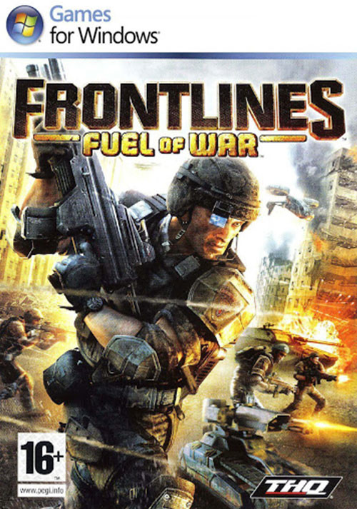 Frontlines: Fuel of War - Cover