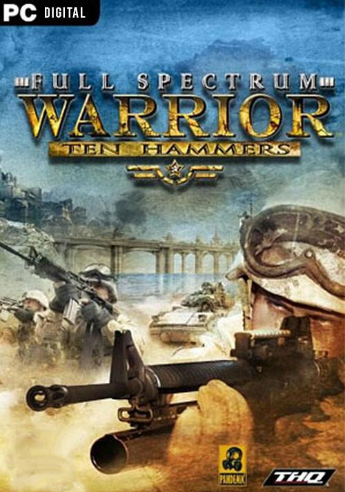Full Spectrum Warrior: Ten Hammers - Cover / Packshot
