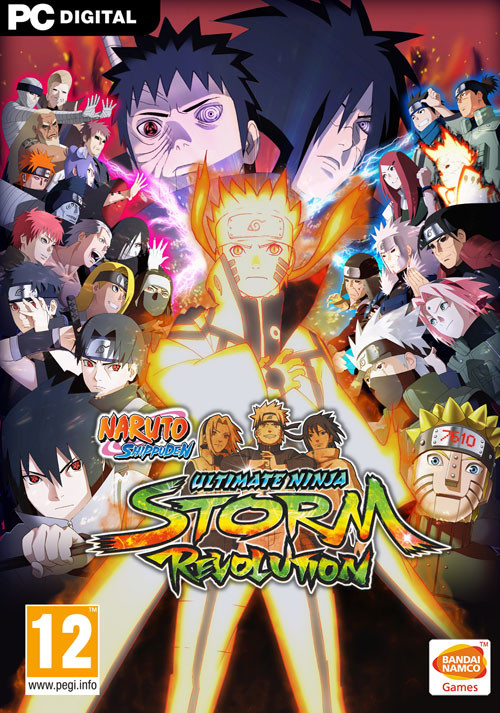 NARUTO SHIPPUDEN: Ultimate Ninja STORM Revolution - Cover / Packshot