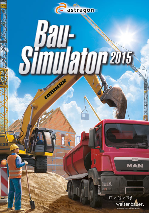 Bau-Simulator 2015 - Cover