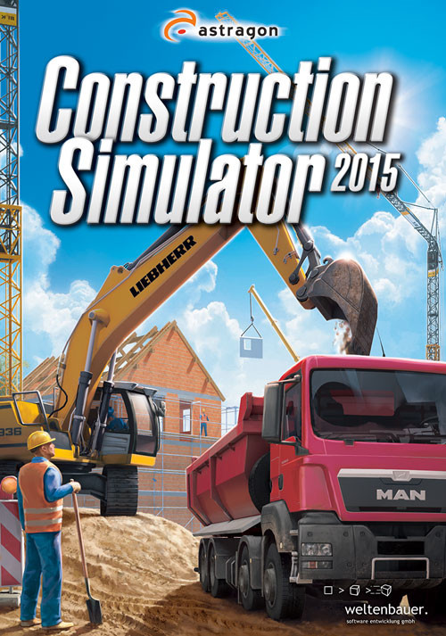 Construction Simulator 2015 - Cover / Packshot