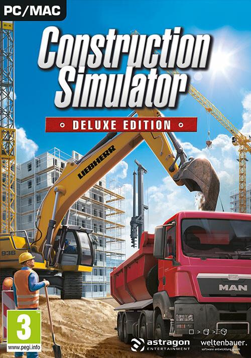 Construction Simulator: Deluxe Edition - Cover