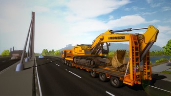 Screenshot5 - Bau-Simulator 2015: Liebherr 150 EC-B DLC 1