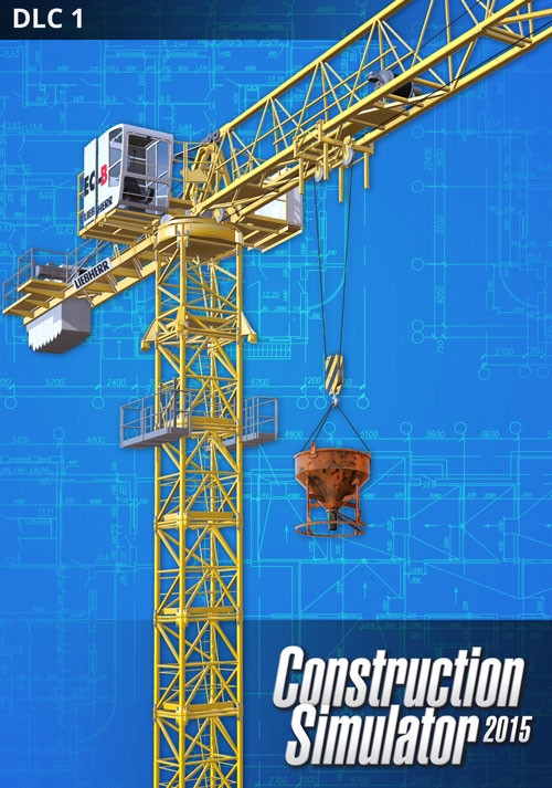 Construction Simulator 2015: Liebherr 150 EC-B DLC 1 - Cover / Packshot