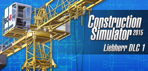 Construction Simulator 2015: Liebherr 150 EC-B DLC 1 - Cover / Packshot