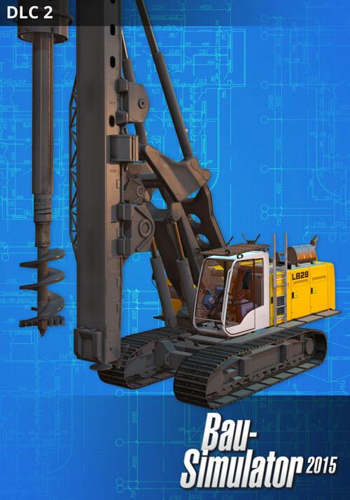 Bau-Simulator 2015: Liebherr LB 28 DLC 2 - Cover