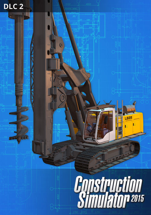 Construction Simulator 2015: Liebherr LB 28 DLC 2 - Cover