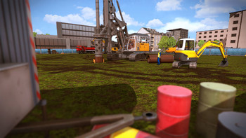 Screenshot2 - Construction Simulator 2015: Liebherr LB 28 DLC 2