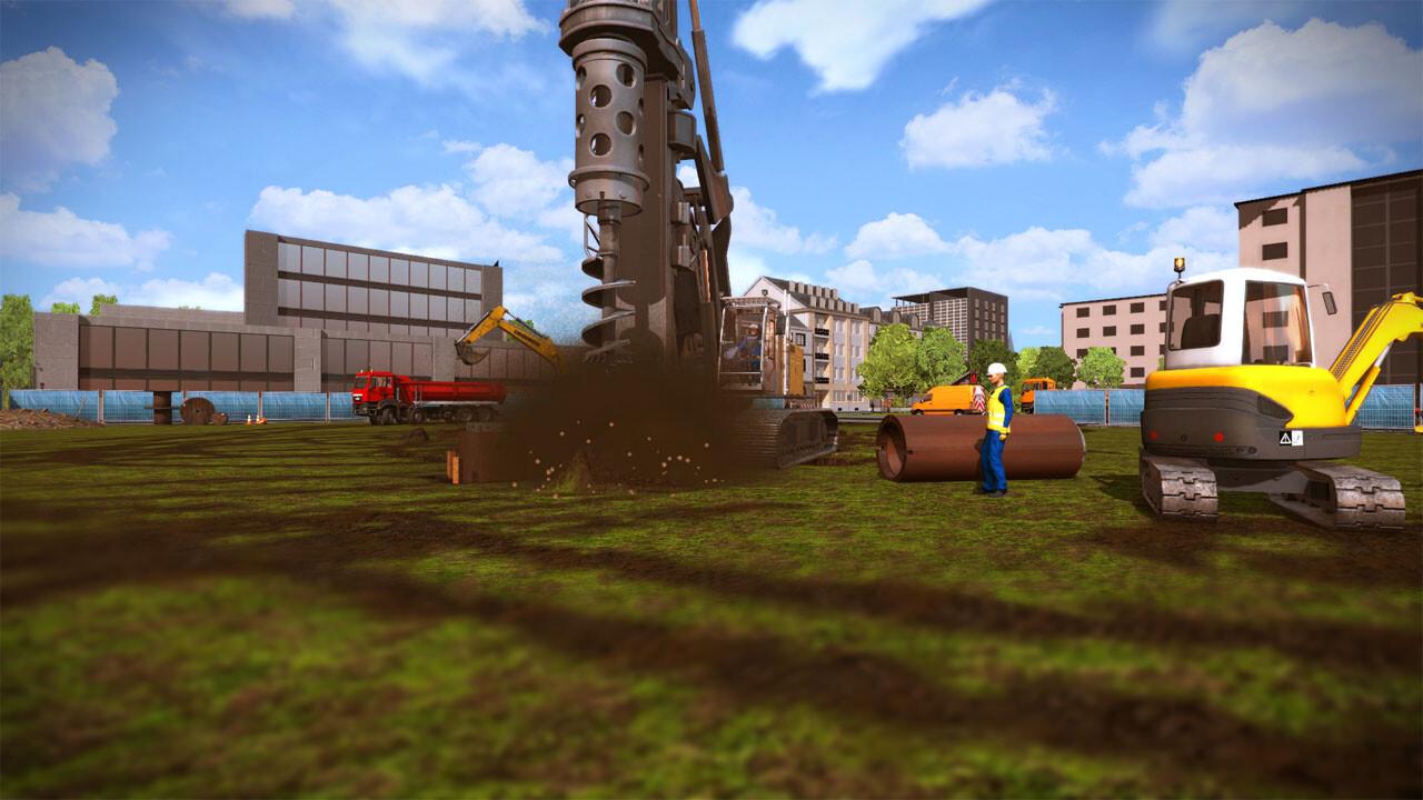Construction simulator 2015 liebherr lb28 dlc 2 steam cd for Online house builder simulator
