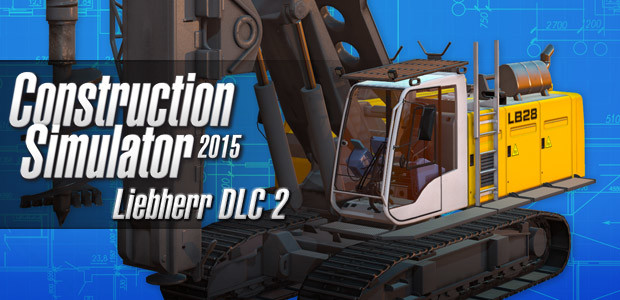 Construction Simulator 2015: Liebherr LB 28 DLC 2 - Cover / Packshot