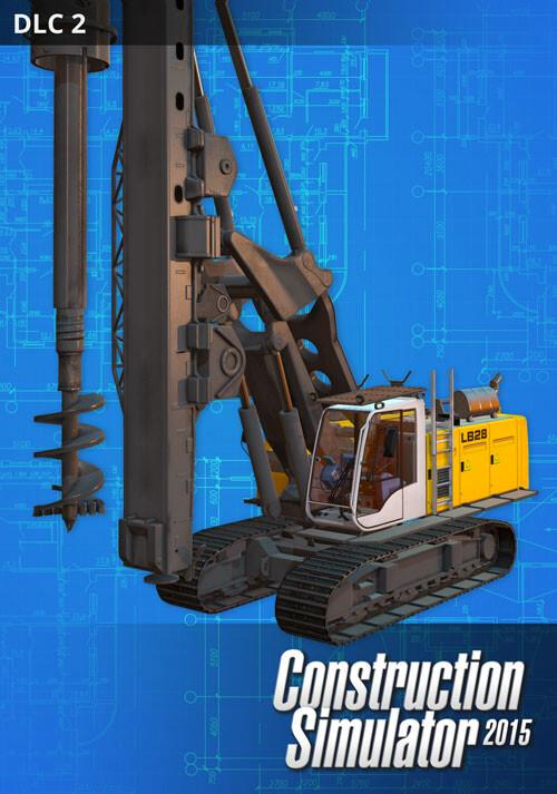 Construction Simulator 2015: Liebherr LB 28 DLC 2 - Cover / Packshot