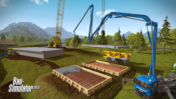 Screenshot2 - Bau-Simulator 2015: Liebherr LR1300 DLC 3