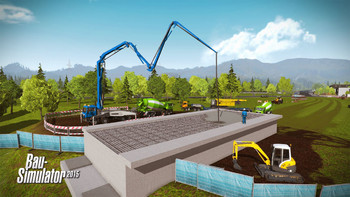Screenshot4 - Bau-Simulator 2015: Liebherr LR1300 DLC 3