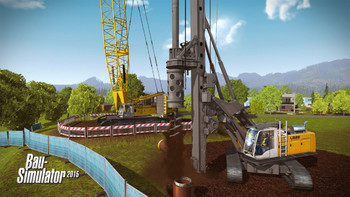 Screenshot5 - Bau-Simulator 2015: Liebherr LR1300 DLC 3
