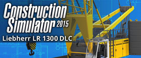 Construction Simulator 2015: Liebherr LR 1300 DLC 3