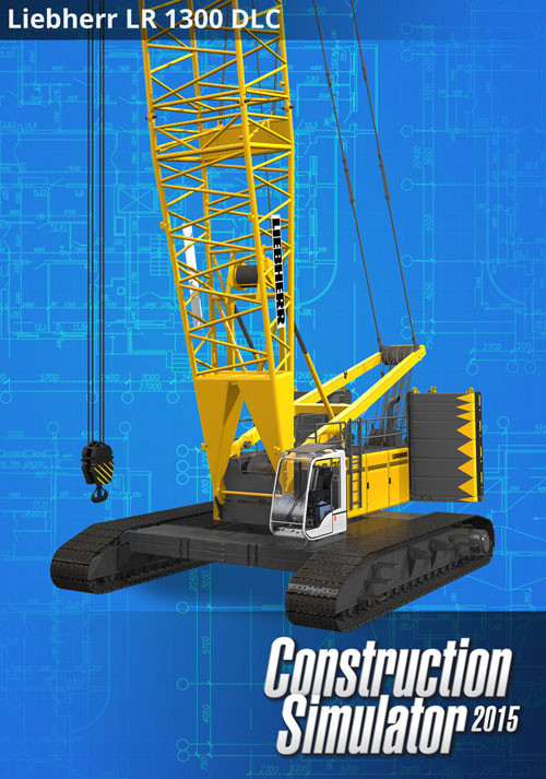 Construction Simulator 2015: Liebherr LR 1300 DLC 3 - Cover / Packshot