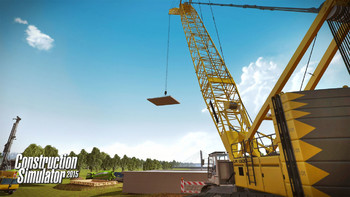 Screenshot1 - Construction Simulator 2015: Liebherr LR 1300 DLC 3