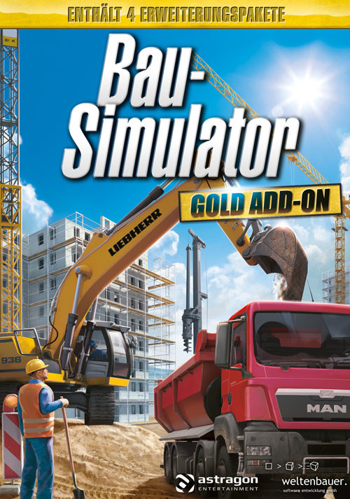 Bau-Simulator: GOLD-ADDON - Cover