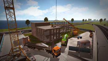 Screenshot1 - Construction Simulator: GOLD Add-ON
