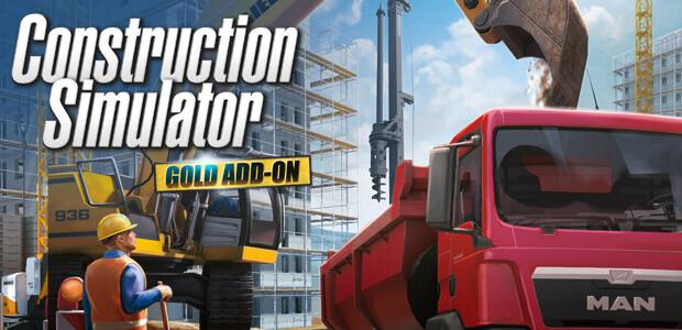 Construction Simulator: GOLD Add-ON - Cover / Packshot